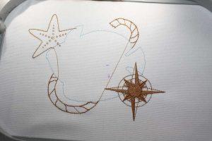 Die Position des Fischkörpers für die maritimen Applikationen