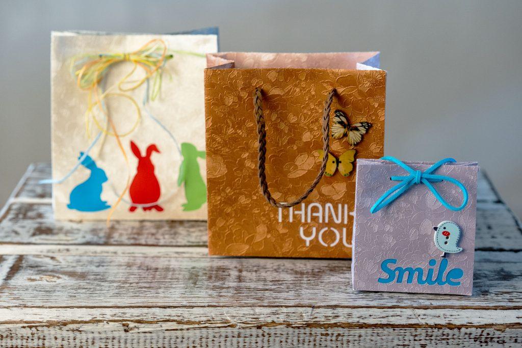 Individuelle Geschenktaschen