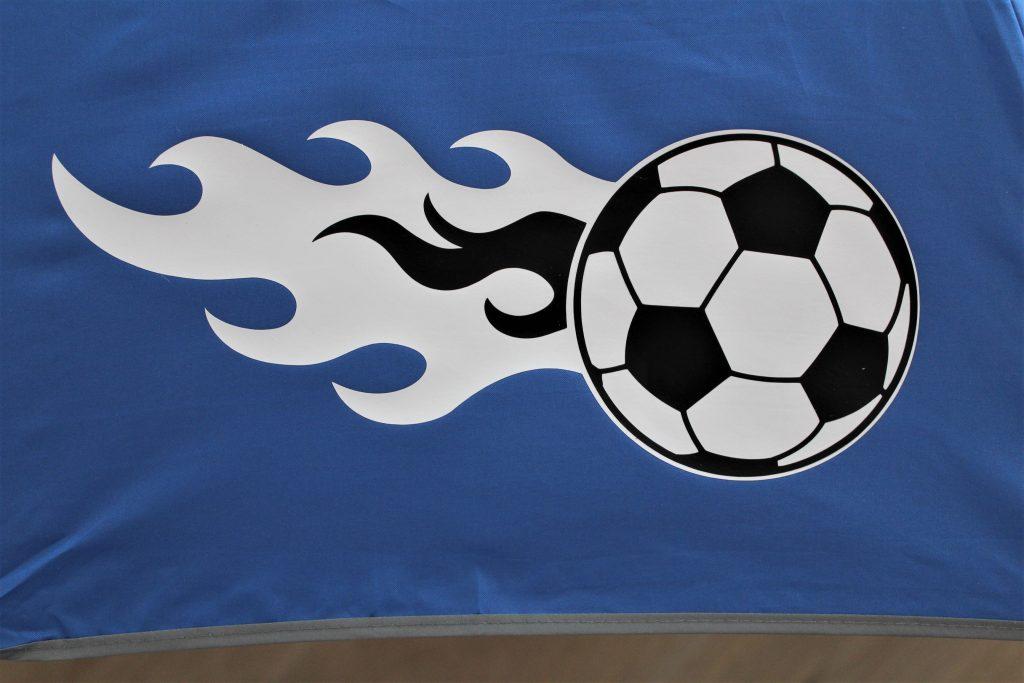 Detailansicht Fußball