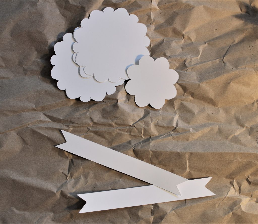 Papierhintergrund für das Airbrush Projekt