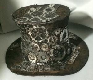 Steampunk-Leder-Zylinder