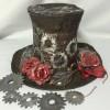 Steampunk-Zylinder mit Kunstleder-Papier von SILHOUETTE