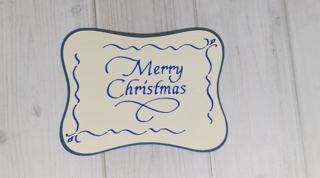 Kalligrafie - Marry Christmas