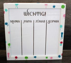 Whiteboard gebastelt