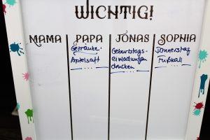 Whiteboard beschriftet 2