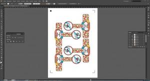 Die selbst gemachten Etiketten im Adobe Illustrator