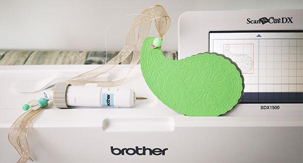 Prägen mit dem Plotter - Brother SDX1500