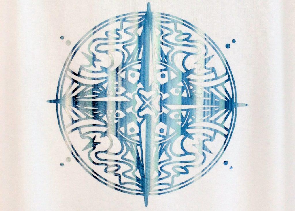 Kompass Mandala aus MagicFlexFolie