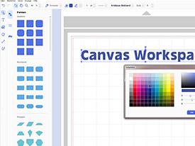 CanvasWorkspace Screenshot