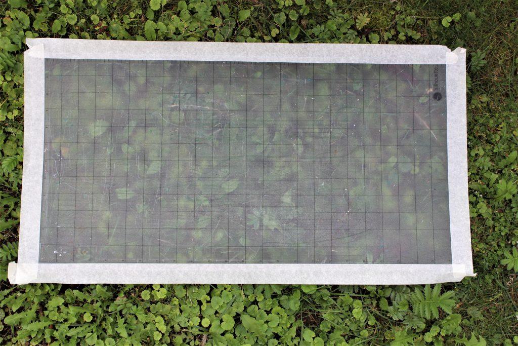 Schneidematte auffrischen mit Freshmat-Sprühkleber von plottiX