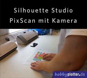 PixScan mit_Kamera und Silhouette portrait