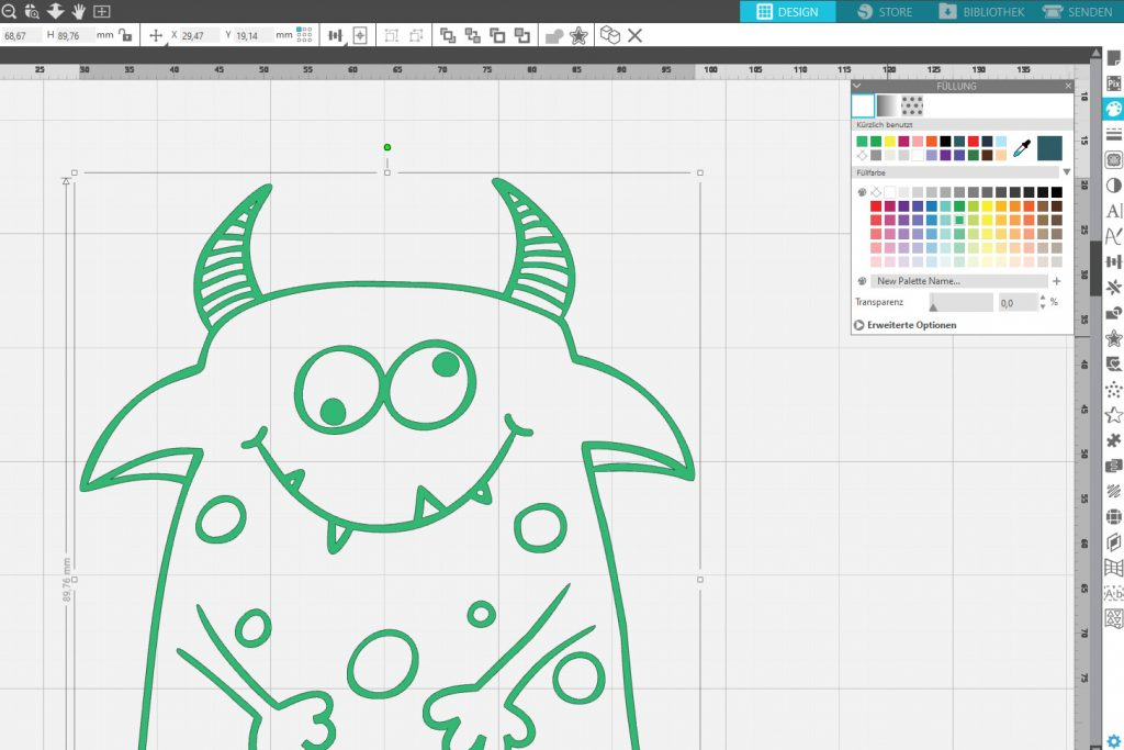 Monster Freebie outline
