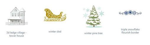 Mit designs von Silhouette zum Adventskalender basteln