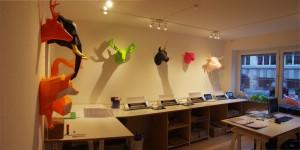 Produktion von 3D-Skulpturen aus Papier mit Silhouette CAMEO