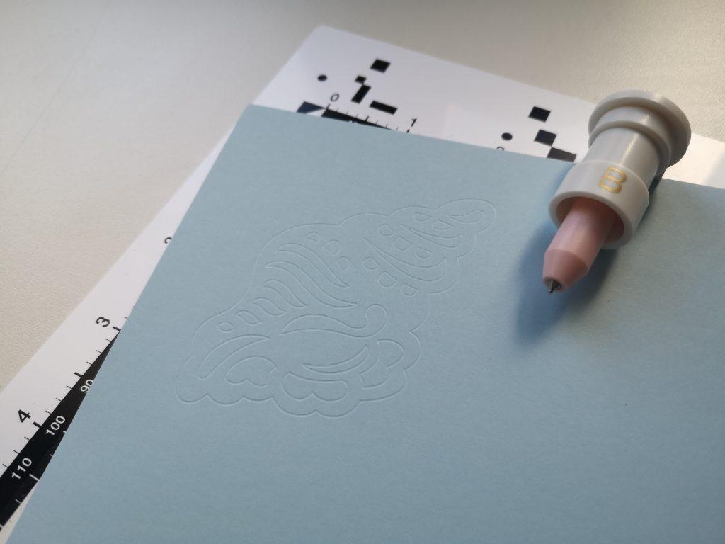 Plottix Papier Bevel Quill