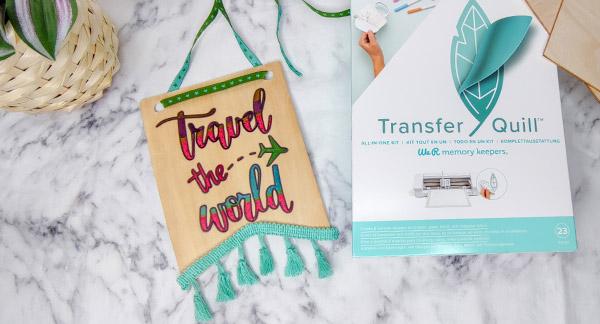 Wie verwende ich das Transfer Quill Starter Set?