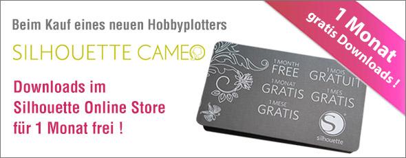 Neuer Lieferumfang beim Hobbyplotter SILHOUETTE CAMEO