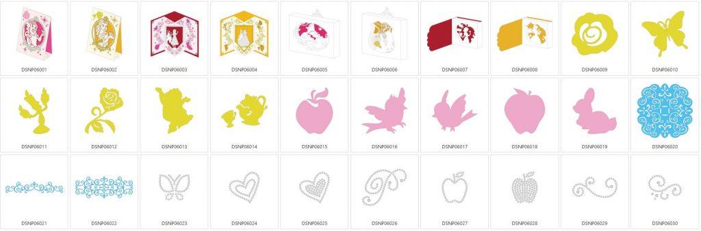 Schneewittchen & Belle - 30 Designs