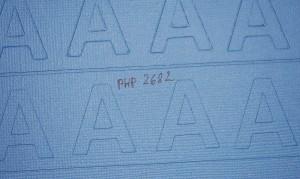 Vergelcih des Schnittbildes zwischen CutPro PHP2682 und original Messerhalter