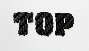 """Carbon-Vinylfolie - """"Top"""""""