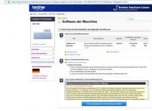 Softwareaktualisierung SDX
