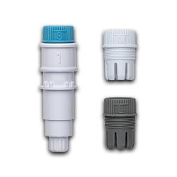 Universal-Stifthalter mit 3 Kunststoffkappen