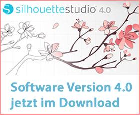 Aktuelle Silhouette Studio Version