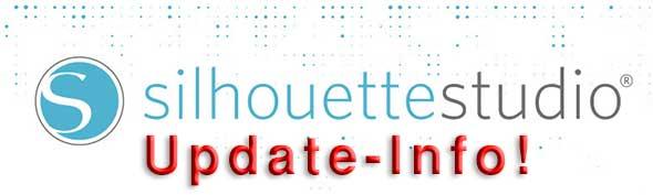 Wichtiger Update zur neuen Version von Silhouette Studio!