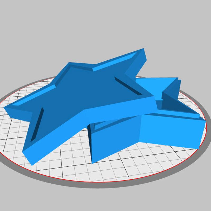 Stempelbox selber ausdrucken und individualisieren.