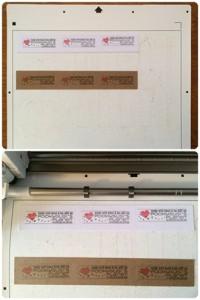 Stickerpapier und PixScan