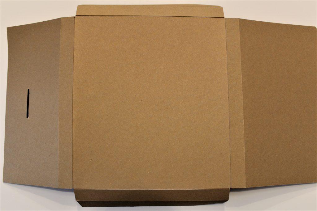 Gefalzte Geschenkverpackung
