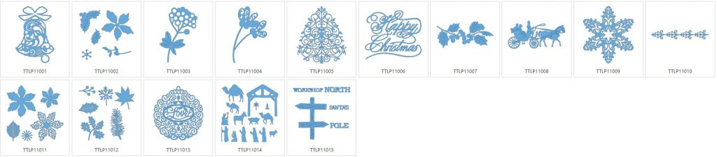 Tattered Lace 11 - 15 Designs