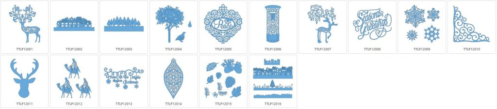 Tattered Lace 12 - 16 Designs