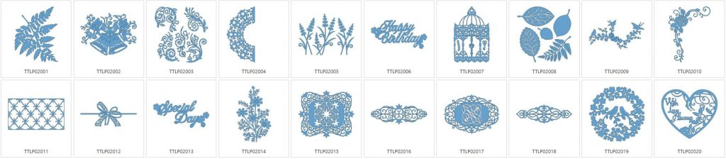 Tattered Lace 2 - 20 Designs