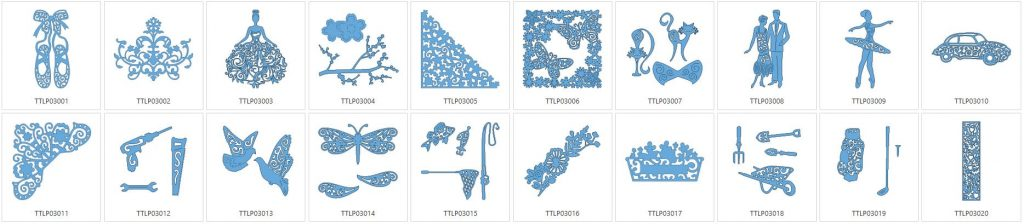 Tattered Lace 3 - 20 Designs