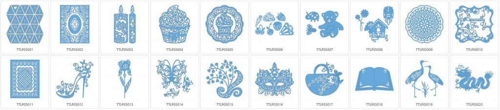 Tattered Lace 5 - 20 Designs