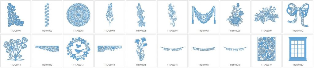 Tattered Lace 8 - 20 Designs