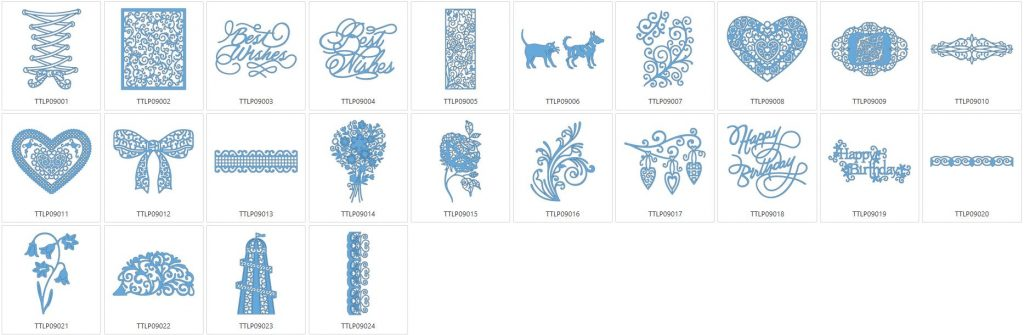 Tattered Lace 9 - 24 Designs
