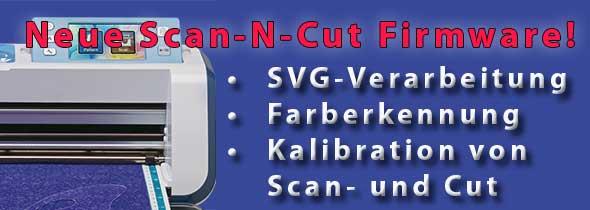 ScanNCut Firmware jetzt für SVG-Daten