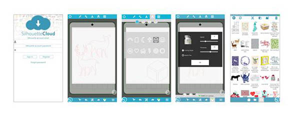 Silhouette Studio Mobile ist verfügbar