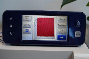 Voransicht des Materials auf dem CM900