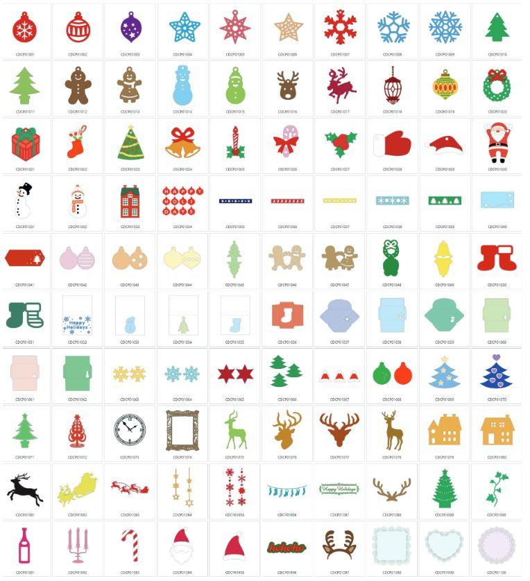 Weihnachtsdekoration - 100 Designs