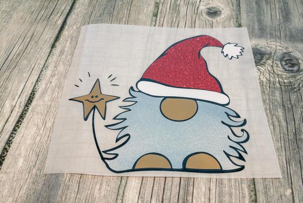 Vinyl Aufkleber Weihnachtswichtel