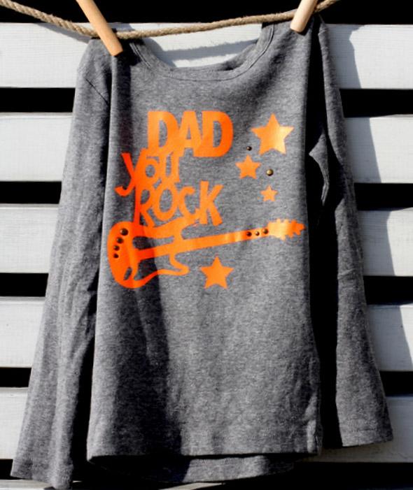 Shirts aufpeppen mit Neon-Flex