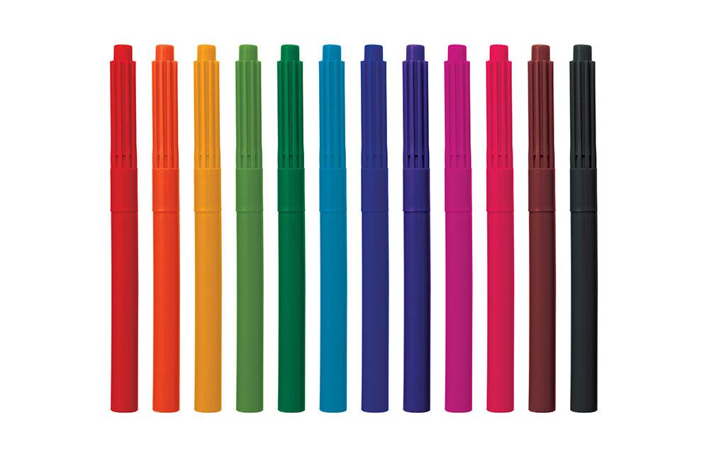 Verwenden Sie verschiedene Farben für tolle Hingucker oder schöne Verläufe.