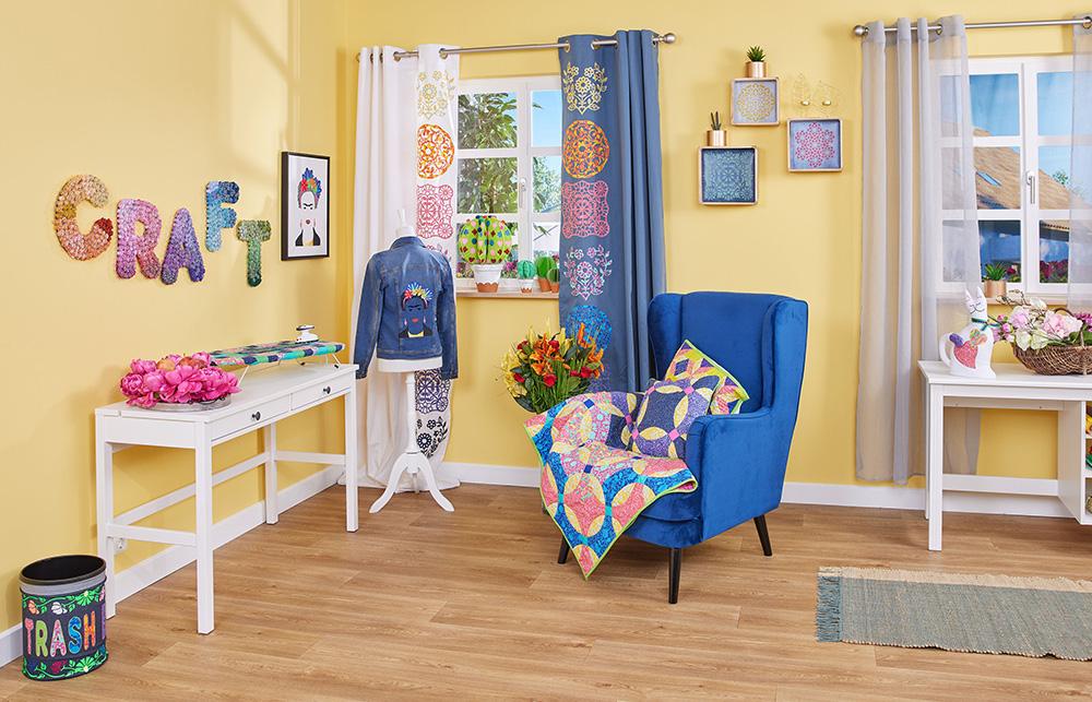 Mit den ScanNCut DX Plottern können Sie Ihr Bastelzimmer genau nach Ihren Wünschen einrichten.
