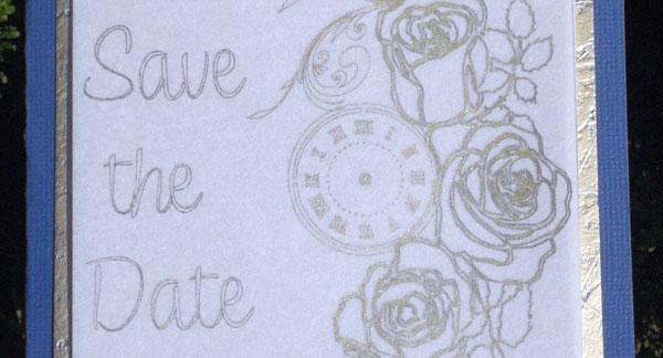 Besondere Hochzeitskarten mit Veredelungsfolie