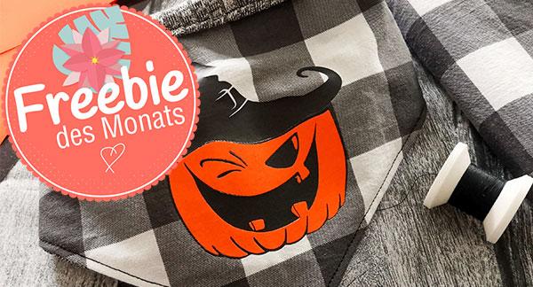 Kürbis Freebie Oktober