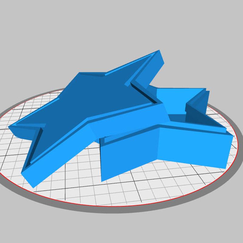 Box selber ausdrucken und individualisieren. Funktion von kostenlose 3D Software.