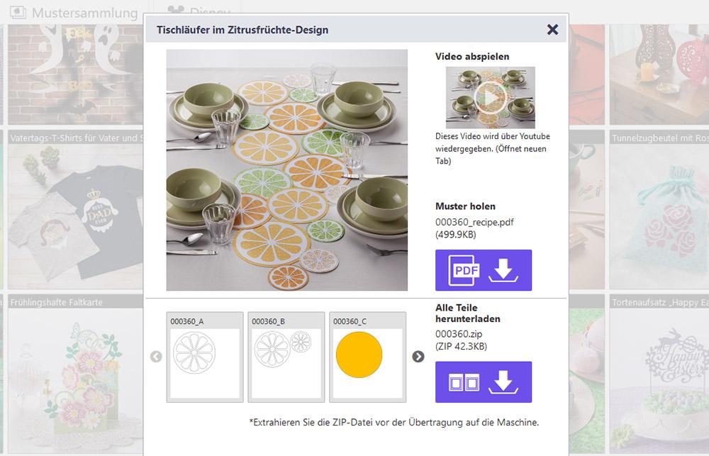 Kostenlose Schritt-für-Schritt Anleitungen inklusive gratis Design!
